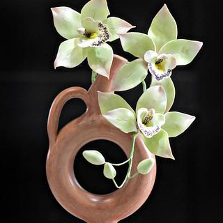 Cymbidium orchid toppers