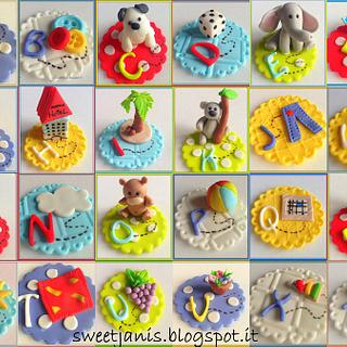 Colorful alphabet for kids