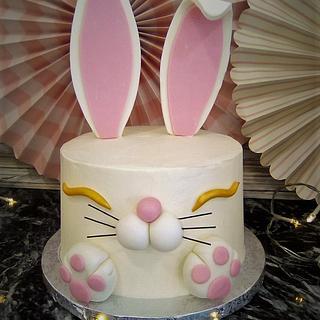 Bunny shape cake