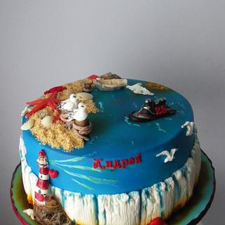 Sea cake - Cake by Rositsa Lipovanska