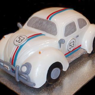Herbie Car Cake