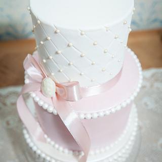 Maria Antoinette wedding cake