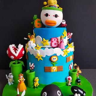 Bowser Jr..... and friends