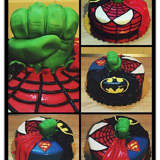 Avangers cake