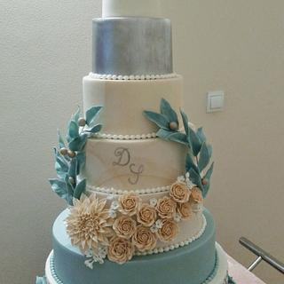 7 tiers cake wedding - Cake by Marianna Jozefikova