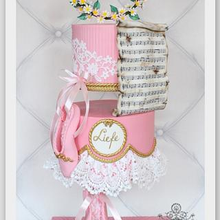 Ballerina Cake / Gravity Defying  - Cake by Berber's Cakes & Moulds