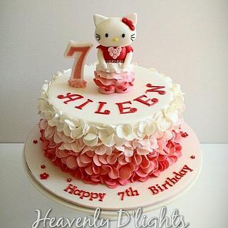 Hello Kitty with Ruffles