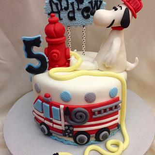 Snoopy the Firefighter