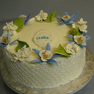 Columbine Birthday Cake
