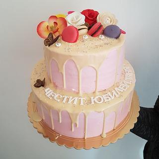 Birthday cake - Cake by Kamelia