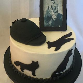 The Classy Fox Hunter cake - Cake by horsecountrycakes