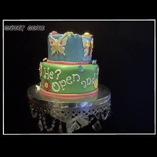 Baby Shower cake - Cake by Comfort