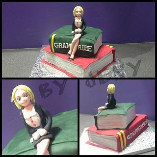 Teacher cake - Cake by Jeny Dogani