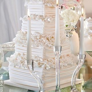 Total white - Cake by Letizia grella