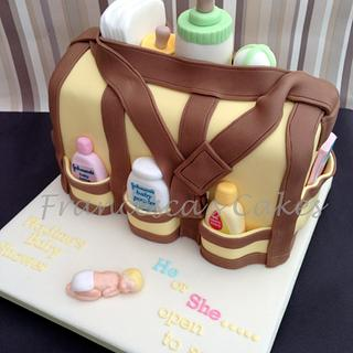 Nappy bag - Cake by Francesca's Cakes