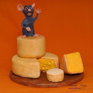 Ratatouille cake - Cake by Barbara Perego Cake Design
