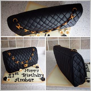 Chanel Bag - Cake by Cushty cakes