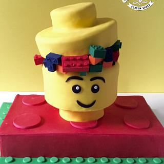 Lego cake - Cake by Dkn1973