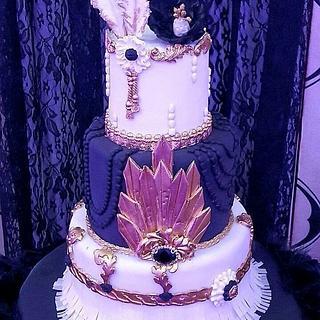 Gatsby Cake - Cake by Fées Maison (AHMADI)