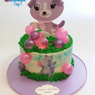 My pal violet cake