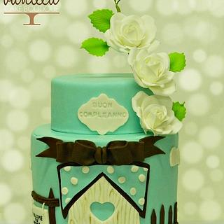 Home sweet Home - Cake by Vanilla cake boutique