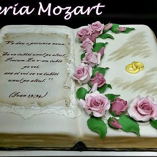 Engagement cake - Cake by Gelateria Mozart