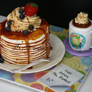 Pancakes and Coffee, anyone?