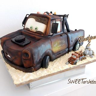 Tow Mater cake