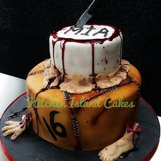 House of horror cake