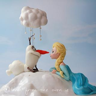 Frozen with a 'flurry'
