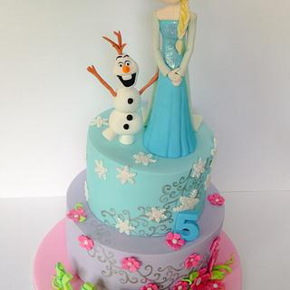 Frozen and Tinkerbell