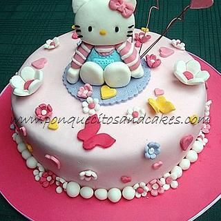Kitty Cake and Cupcakes