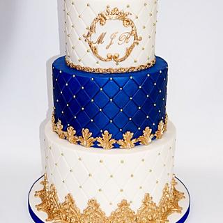 A Royal cake for a little prince