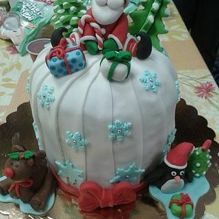 Arriva il Natale... Buon Panettone a tutti!!!! - Cake by modas
