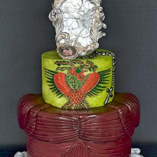 Love Never Dies - Penny Dreadful Cake Collab