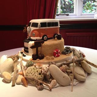 Vw Campervan Wedding Cake xx