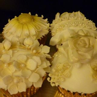 Gluten Free Floral cupcakes
