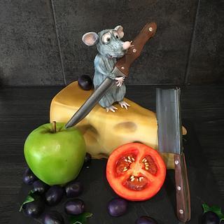 Ratatouille Disney Cake
