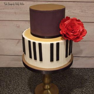 For the love of music - Cake by Holly Miller