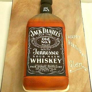 JD Jack Daniels bottle