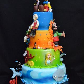 Pinocchio Cake  - Cake by ledolcezzedimarycry