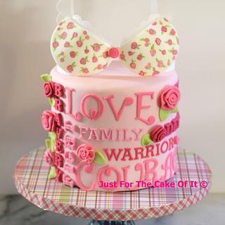 Breast Cancer Survivor Cake