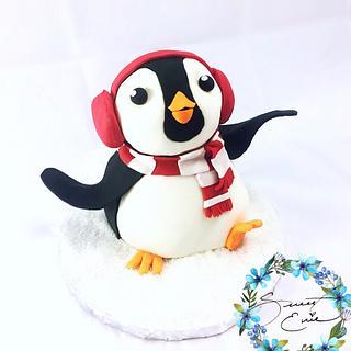 Boogie woogie penguin