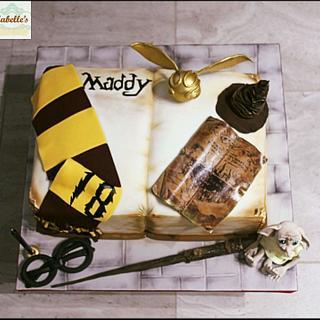 Harry Potter spell book