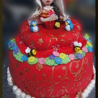 Indian Princess Cake