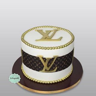 Torta Louis Vuitton Cake - Cake by Dulcepastel.com