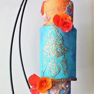 Hanging Moroccan Cake
