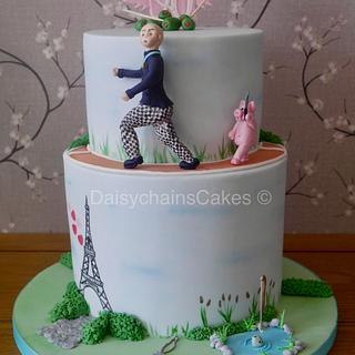 Bespoke 40th birthday cake