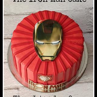 The Iron man cake - Cake by Dr. Angelique Vikram Goel
