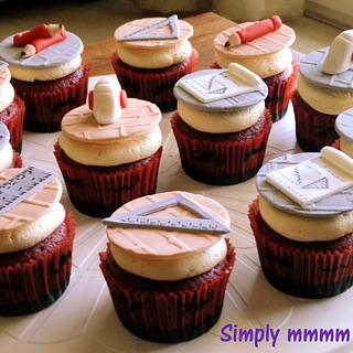 Cupcakes for an architect - Cake by Suman